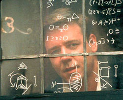 A scene from 'A Beautiful Mind'